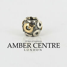 Genuine Pandora Silver and 14CT Gold Charm - Letter Q - 790298Q RRP£95!!!