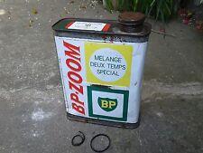 bidon mélange BP-ZOOM pour moteur  2 temps Solex Cyclomoteur Cyclosport old can