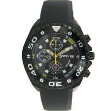 gooix Herren Uhr Armbanduhr Chrono Kautschuk Analog GX01102200 NEU