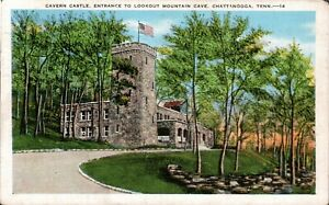 Cavern Castle, Entrance to Lookout Mountain Cave, Chattanooga, Tennessee