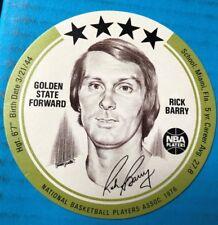 RICK BARRY - 1976 BUCKMAN's DISC - GOLDEN STATE WARRIORS