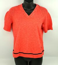 NWT Nike Tech Knit Top Red Crimson Platinum Shirt Womens Medium ($140)