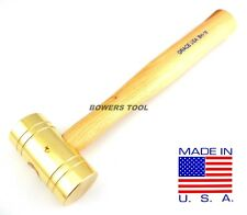 Grace 16oz Brass Hammer BH-16 Gunsmith Gun Care Machinist MADE IN USA