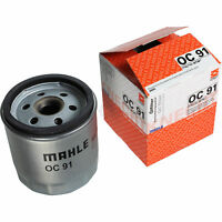 Original MAHLE / KNECHT Ölfilter OC 91 Oil Filter