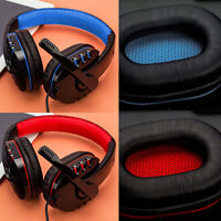 USB 3.5mm Wired Headband Stereo Gaming Headphone W/ MIC For PC Laptop Gamer
