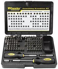 Wheeler 89-Piece Deluxe Gunsmithing Screwdriver Set, New, Free Shipping