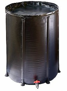 100lt Collapsible Water Tank Camping Caravan 4WD Boating Hydro Fishing Sport