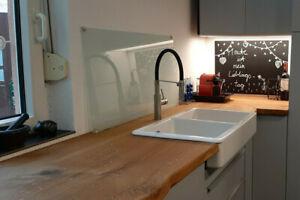Küchenarbeitsplatte Eiche geölt massivholzplatte Baumkante Arbeitsplatte 40 mm