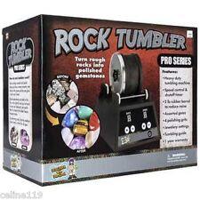 Rock Polisher Machine Tumbler Kit Smooth Stone Maker Gems Collector Pro Series