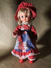 "Uneeda Doll 1963 Sleepy Eyes Vinyl Original Outfit 16"""