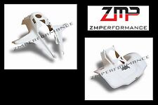NEW SUZUKI LT250R PLASTIC WHITE FRONT AND REAR FENDER SET PLASTICS LT 250R
