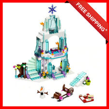 Disney Princess Lego Set Frozen Elsa's Sparkling Ice Castle 297 PCS Girl Gift