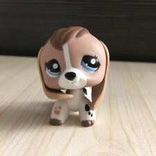 Lps Littlest Pet Shop #2207 Lps White Tan Beagle Dog Figure