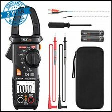 Tacklife Tester Dc Voltage Rms Amp True Test Clamp Digital Meter Ac Multimeter