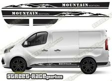 Fiat Talento sides 043 camper van racing stripes graphics MOUNTAIN stickers