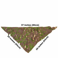 Camo Netting British Army DPM Woodland Camouflage Olive Green Military Net Piece