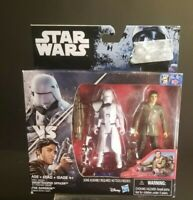 Star Wars The Force Awakens Poe Dameron First Order Snowtrooper Deluxe Pack NIB