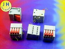 Stk.5x KLEMMLEISTE mit Hebel / TERMINAL BLOCK 4 polig/way 2A Platine PCB #A902