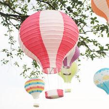 12'' Paper Hot Air Balloon Lantern Lampshade Light Christmas Xmas Party Decor