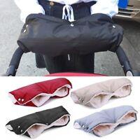 Baby Stroller Pram Winter Waterproof Anti-freeze Gloves Warmer Mittens Hand   !