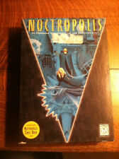 Noctropolis PC Adventure Game - Big Box