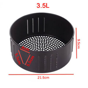 1pcs Compact and Practical Frying Air Fryer Basket Accessory Wear-resistant