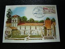 FRANCE - carte 1er jour 20/6/1970 (abbaye de chancelade) (cy48) french