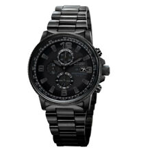 CITIZEN Eco-Drive CA0295-58E Nighthawk Chronograph Blacked Out Men's Watch