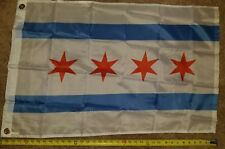 City of Chicago Flag Chicago Illinois Il Banner 3x5 Foot Polyester Flags