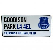 Everton FC Official Crested Metal Street Sign Goodison Park L4 Road Sign