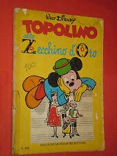 ALBO D'ORO SPECIALE-topolino zecchino d'oro-1969- D-completo bollini-mondadori