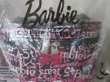 45th Anniversary Barbie Cosmetic Carry-All Bag Sealed N Clear Plastic Mint Rare