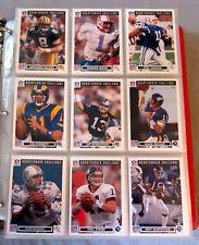 1991 Upper Deck Football Full 700 Cards Set + 2 Heroes Sets + Holograms + SP1-2