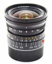 Leica 21mm f/2.8 Elmarit M ASPH E55 lens black MINT-