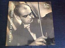 ALBERT KOCSIS BACH YSAYE VIOLIN RECITAL 1963 Qualiton LP Stunning MINT Unplayed