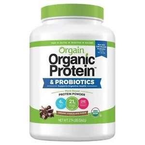 ORGAIN USDA ORGANIC PLANT PROTEIN POWDER, 2.74-POUNDS(CHOCOLATE)