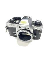 New ListingNikon Fg-20 35mm Slr Film Camera Body - Chrome - Tested Works