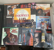 Lot of 10 Laserdisc Movies Assorted Genres Actors Thriller Action Drama