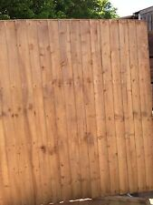 Close Boarded Fencing panels