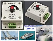 DIMMER REGOLATORE di INTENSITA LED, LED STRIP, LED SMD 12V BARCA CAMPER ROULOTTE