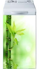 Sticker lave linge déco électroménager Bambous réf 21 40x80cm