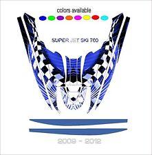 YAMAHA SUPERJET 700 jet ski wrap graphics pwc stand up jetski decal kit SUPER A7