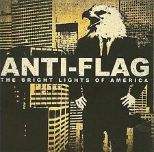 The Bright Lights of America  Anti-Flag CD 2008   BRAND NEW / FACTORY SEALED