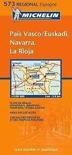 Michelin Map 573 Regional Spain Pais Vasco, Navarra, La Rioja, Michelin, New Boo