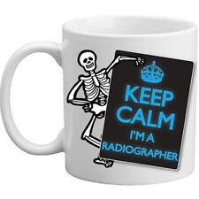 Keep Calm I'm A Radiographer Skeleton X-Ray Gift Doctor's Hospital Mug