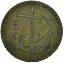 Cyprus, 5 MILS Coin, 1963 BEAUTIFUL COLLECTIBLE COIN     #WT29757