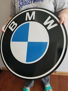 BMW sign VINTAGE STYLE DEALER STORE DISPLAY MOTORCYCLE ADVERTISING
