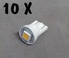 N. 10 LED LAMPE LIGHT BULBS TYPE GE555 6,3V 1 SMD 5050 FOR ALL FLIPPER PINBALL