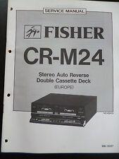 Original Service Manual  Fisher CR-M24