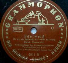 "HERMS NIEL ""Liebling, wenn ich traurig bin / Edelweiß"" Grammophon 1939 78rpm 10"""